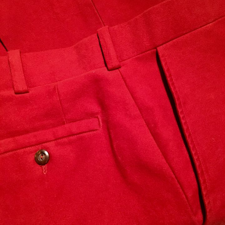 Completing the Red Pants