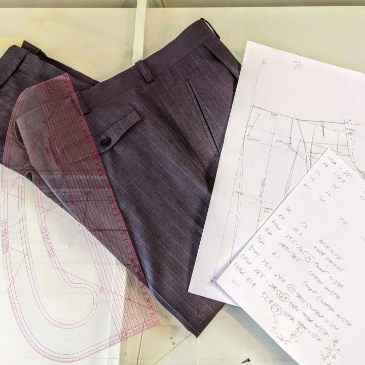 Self Drafted Trousers — An Unfinished Journey